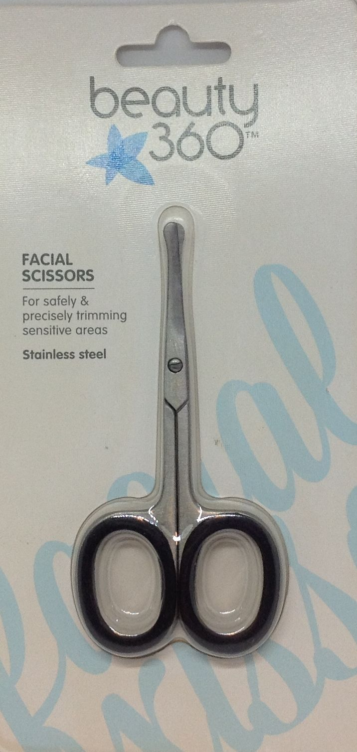 Details about CVS Beauty 11 Stainless Steel Facial Scissors for Trimming  NEW