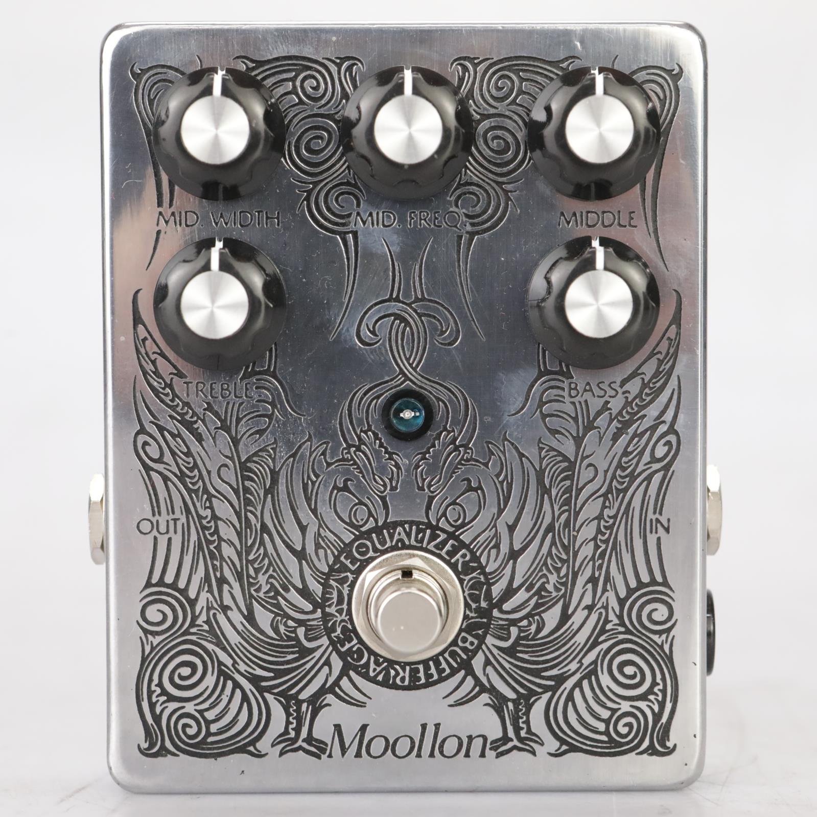 Moollon Parametric Equalizer Stompbox Pedal w/ Box Owned by Leland Sklar #38854