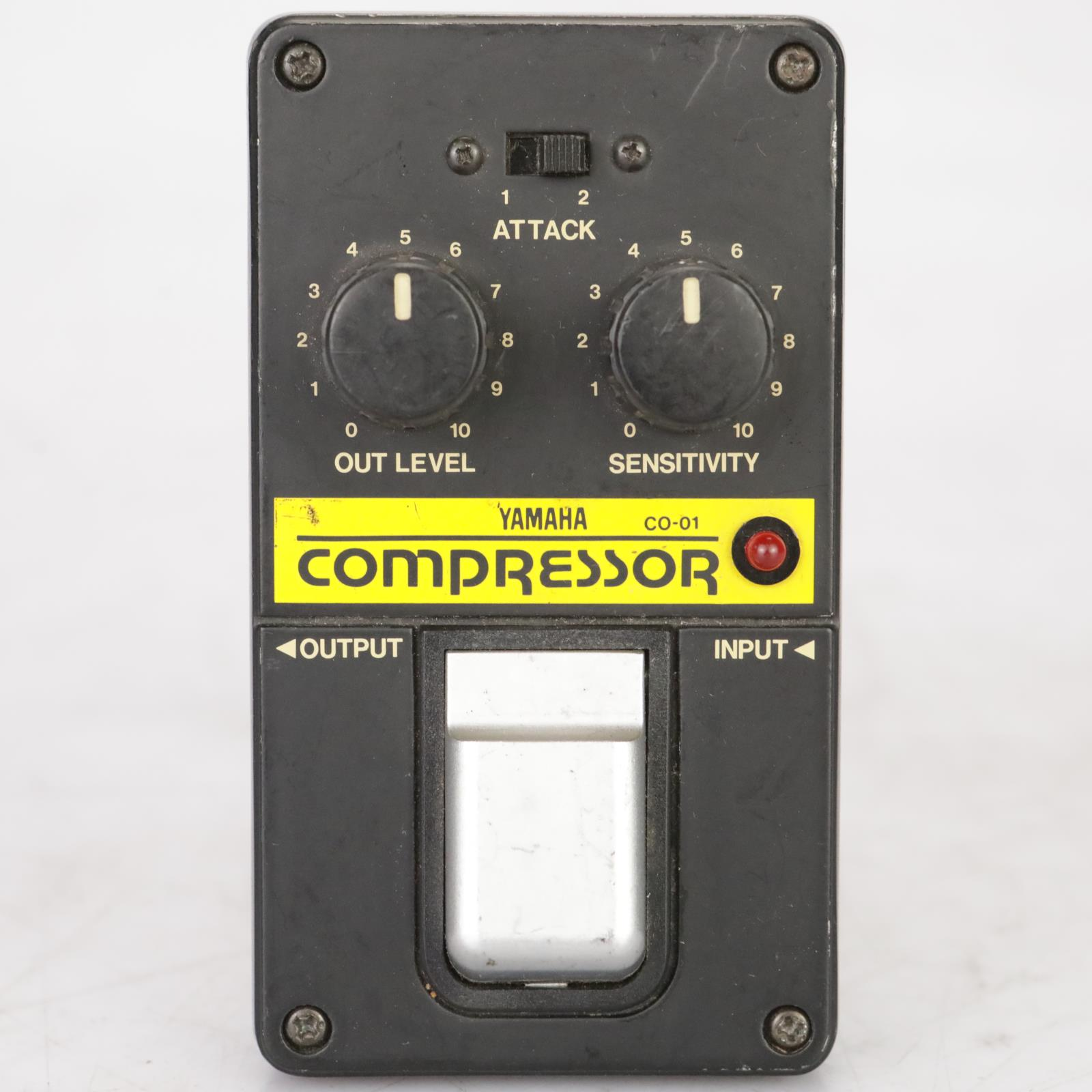 Yamaha CO-01 Compressor Vintage Effect Pedal Owned & Signed Leland Sklar #38865