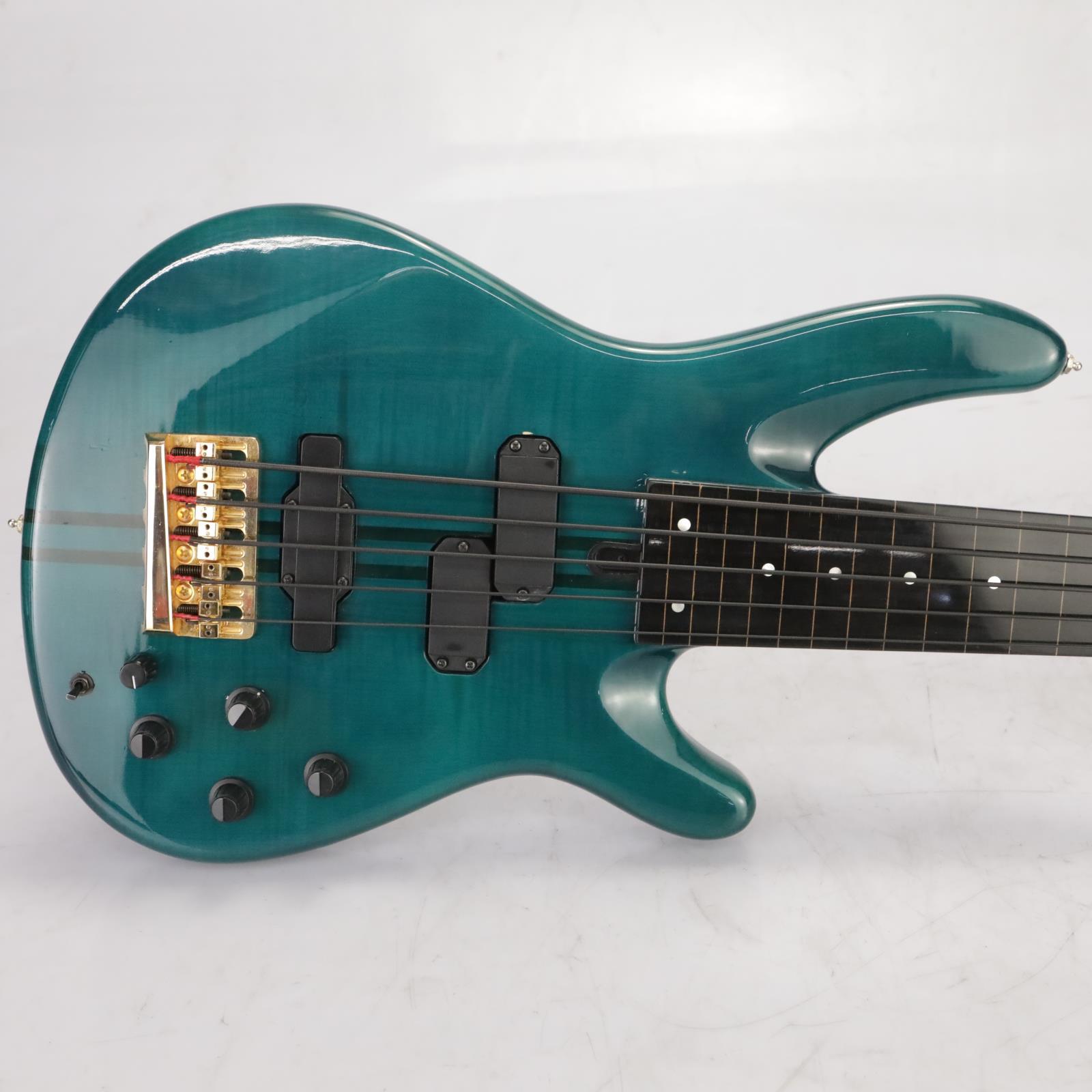 Yamaha TRB-5P 5 String Fretless  Bass Guitar Japan Owned by Leland Sklar #38836