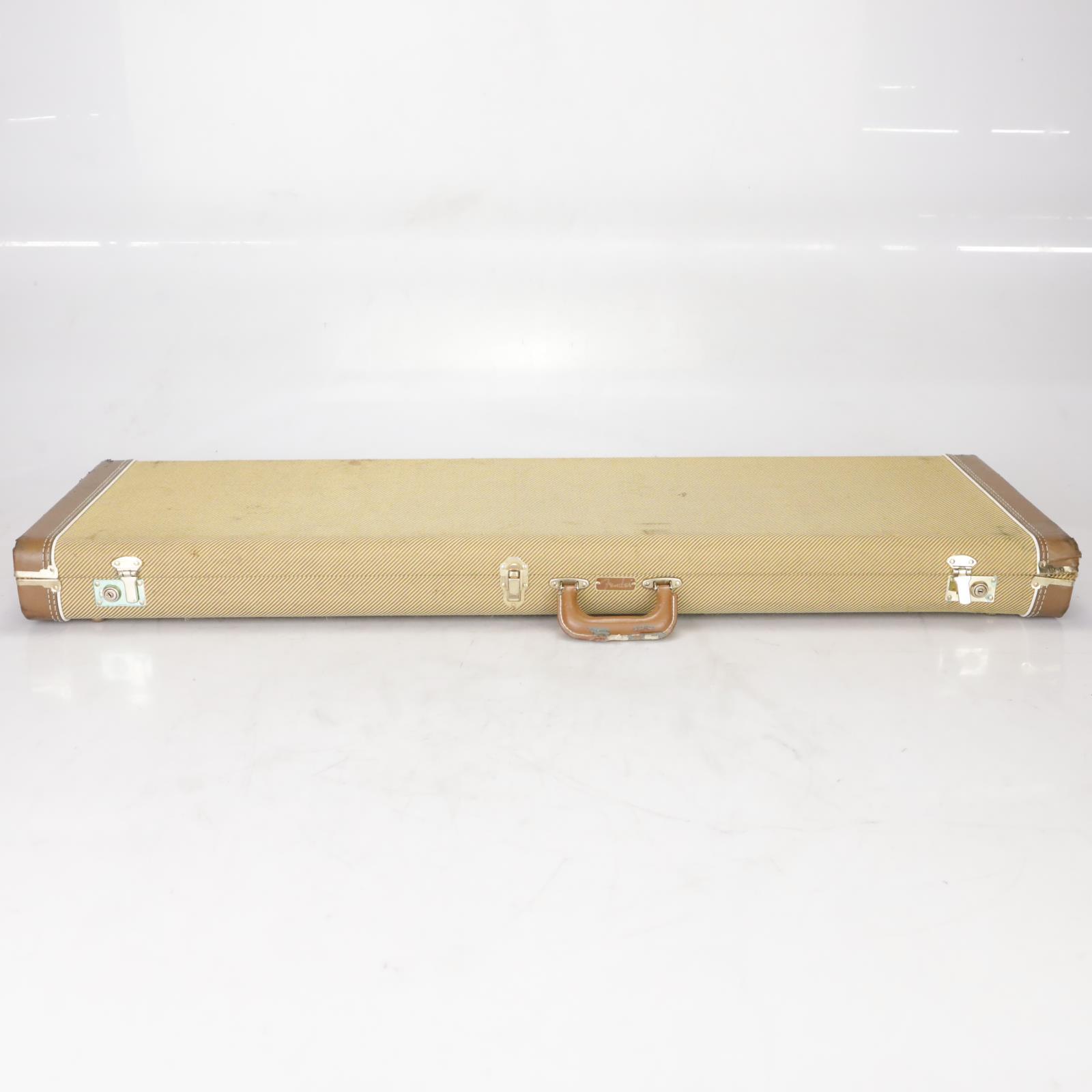 Fender G&G Hard Shell Case for 5 String Bass Guitar Tweed Leland Sklar #38742