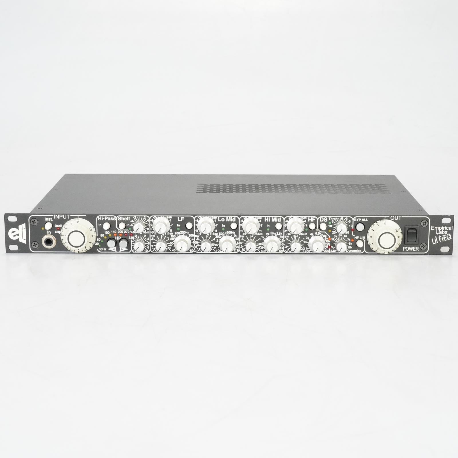 Empirical Labs Lil FrEQ Equalizer Signal Processor Owned by Ed Cherney #38999
