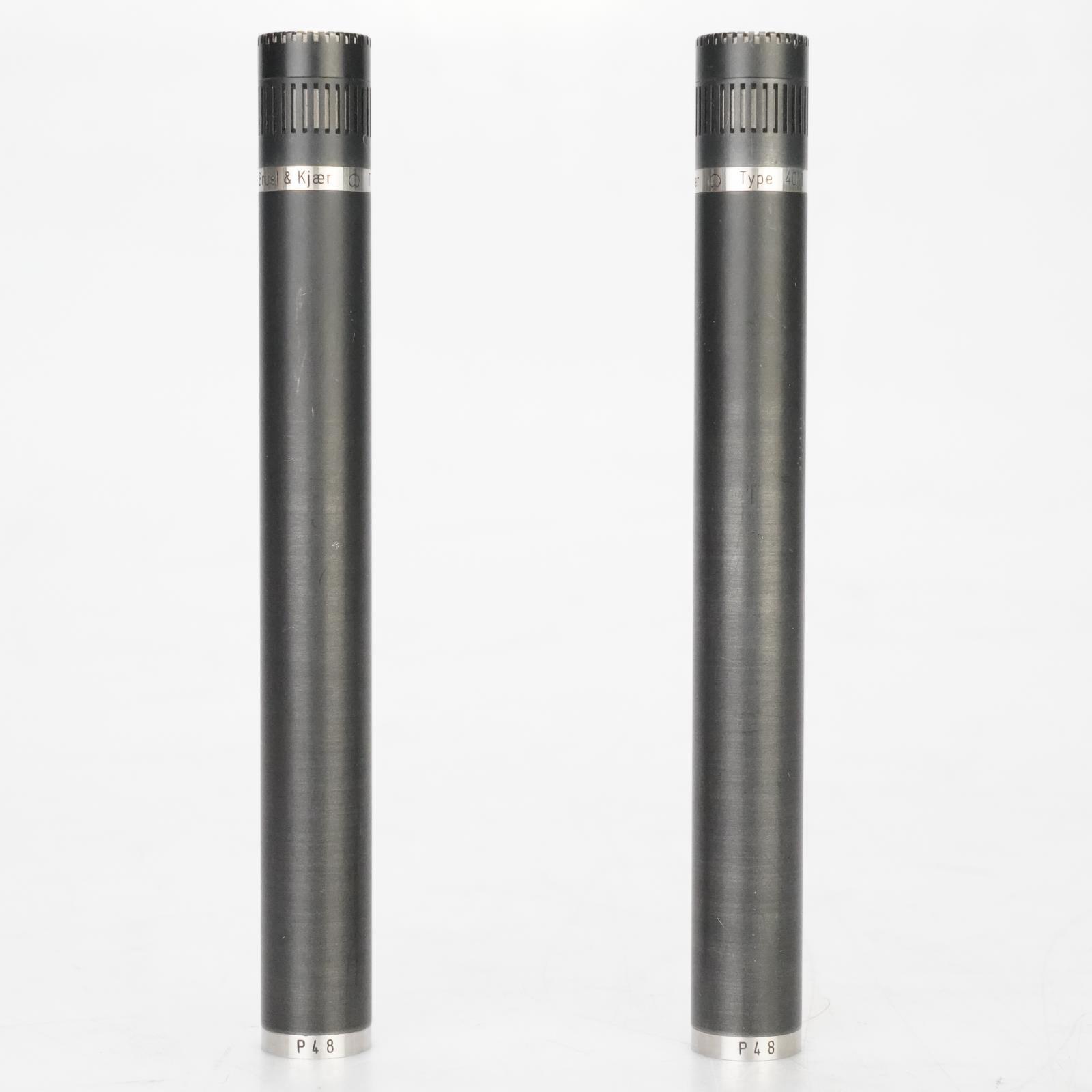 Bruel & Kjaer 4011 Small-Diaphragm Condenser Microphone Pair Ed Cherney #39005