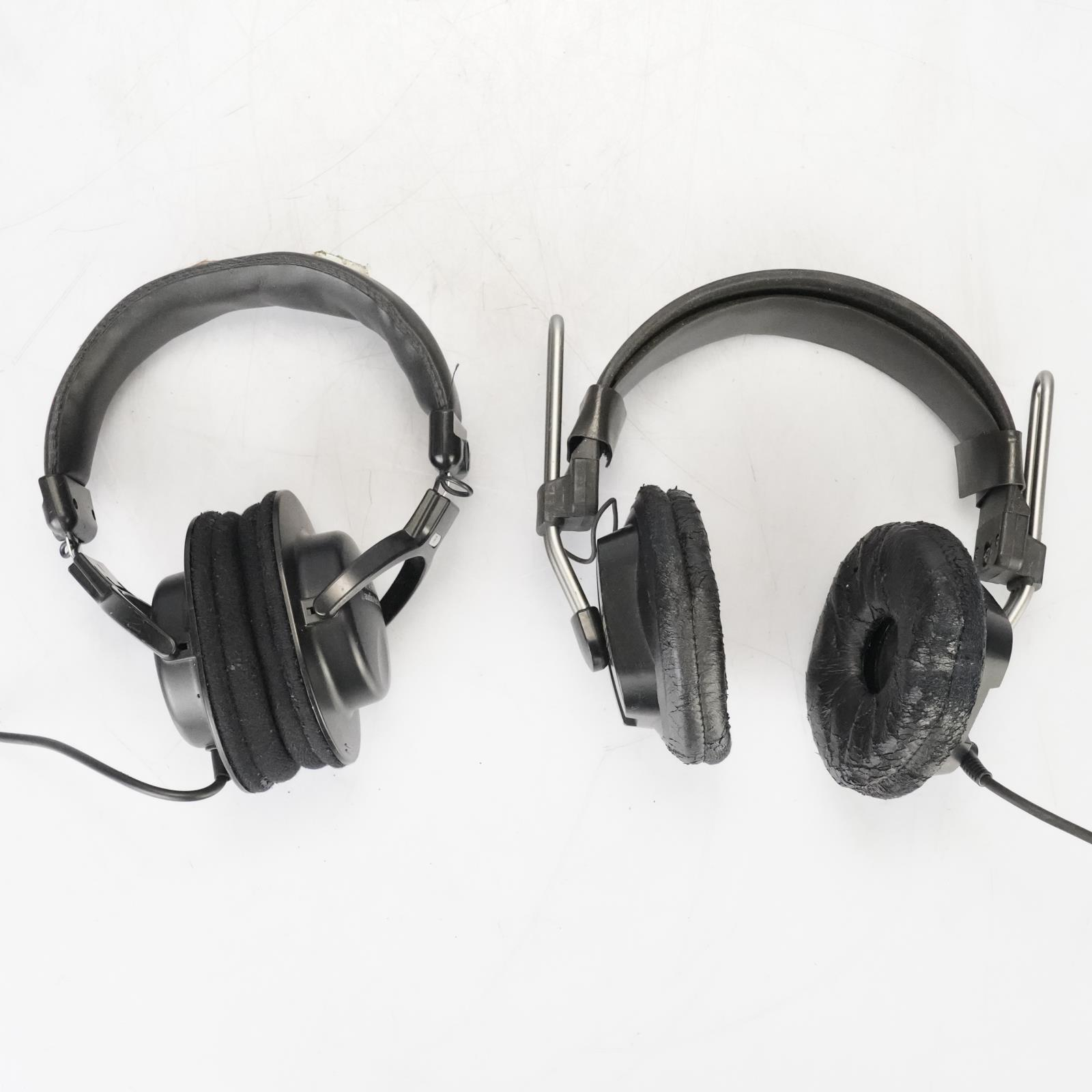 Fostex T20 & Audio-Technica ATH-M30 Headphones Cans owned by Ed Cherney #39116