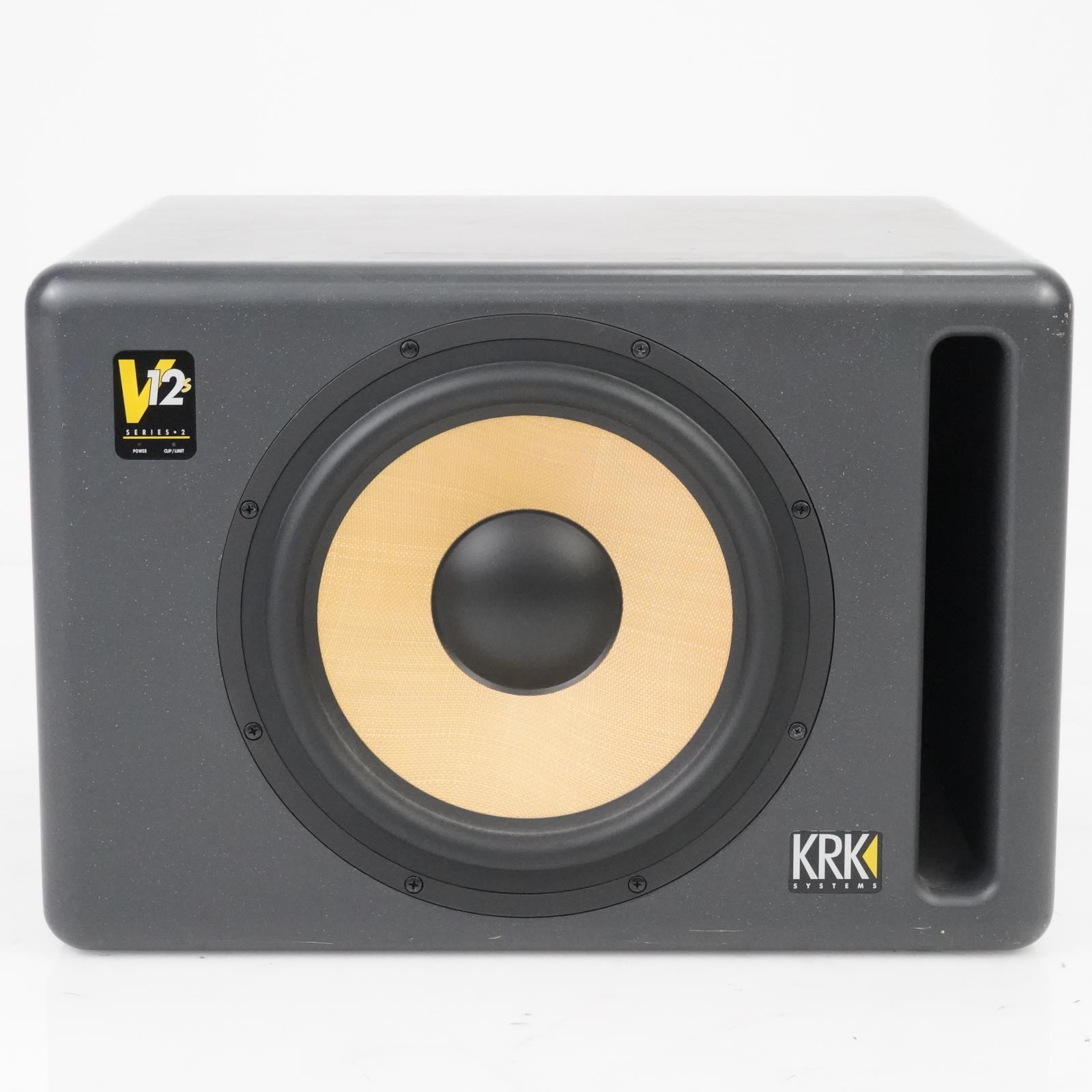 KRK V12s Series 2 Active Powered Subwoofer Speaker Ed Cherney #39094