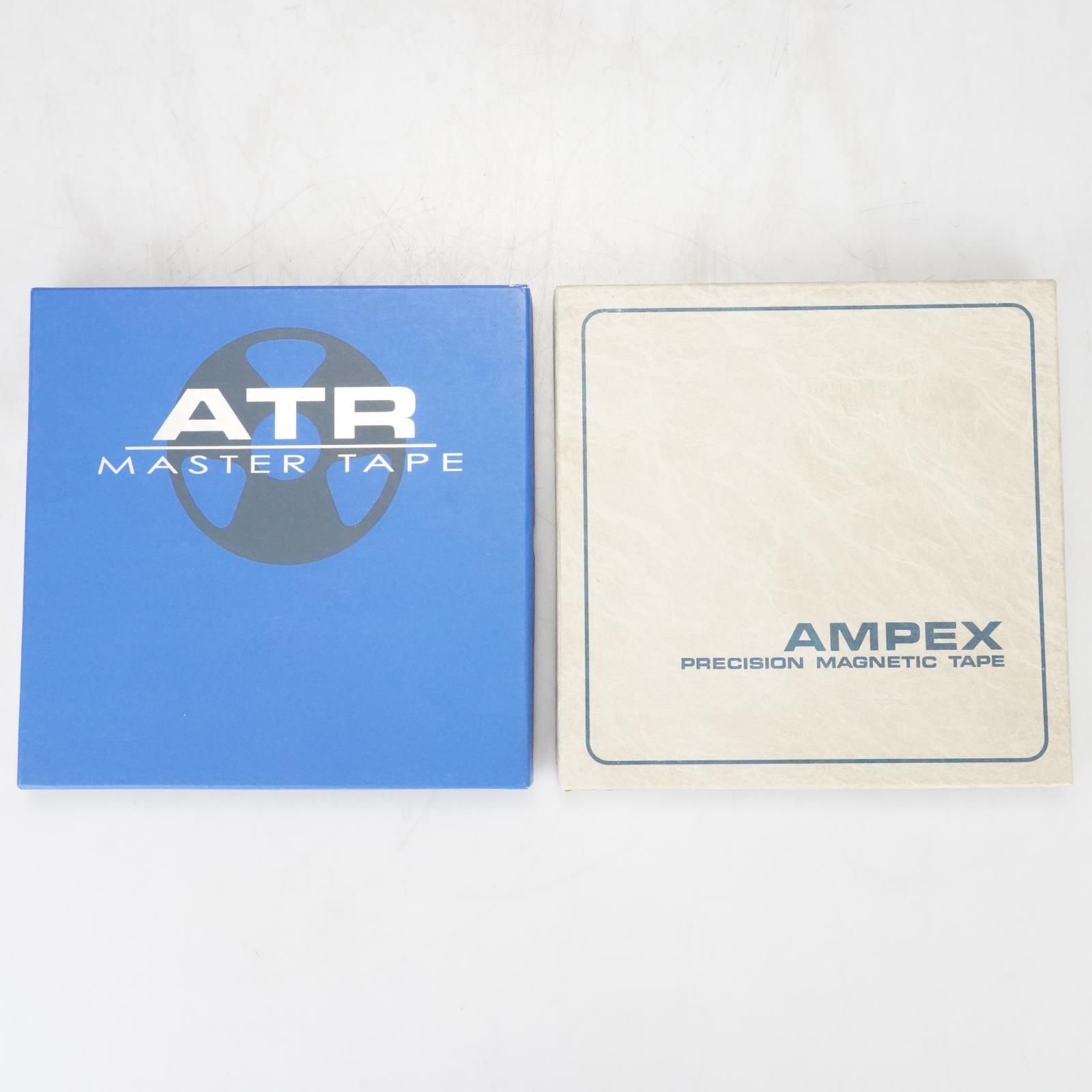 """2 Ampex Grand Master 456 ATR Master Tape 11B 1/2"""" x 2500' NAB Reels #39160"""