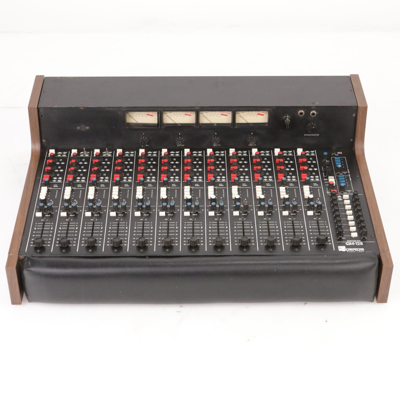 Quantum Audio Labs QM-12B Analog Recording Console w/ Manual & Cables #39157