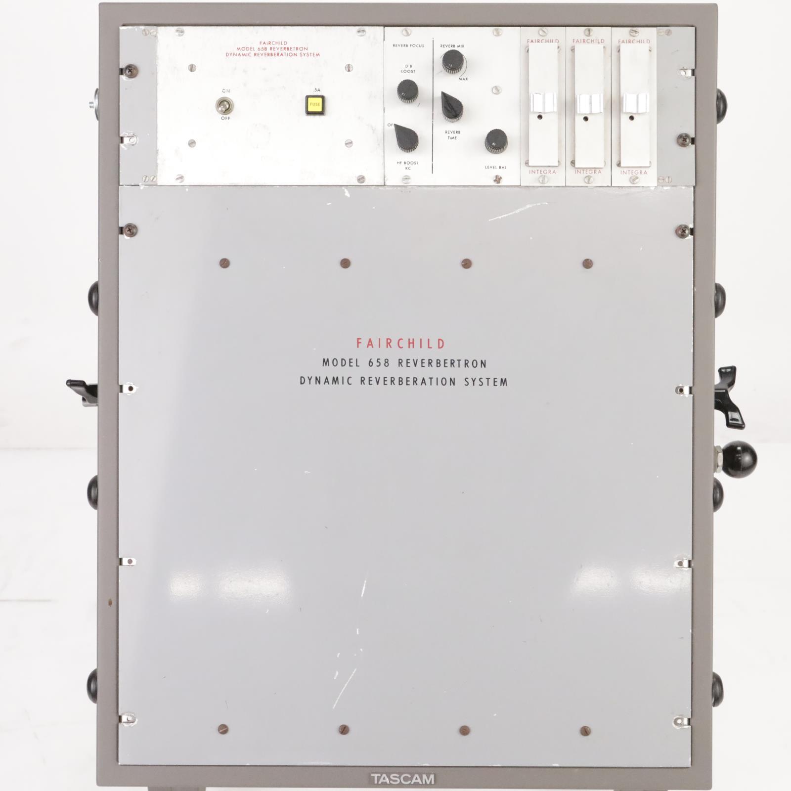 Fairchild Model 658 Reverbertron Dynamic Spring Reverb System #38910