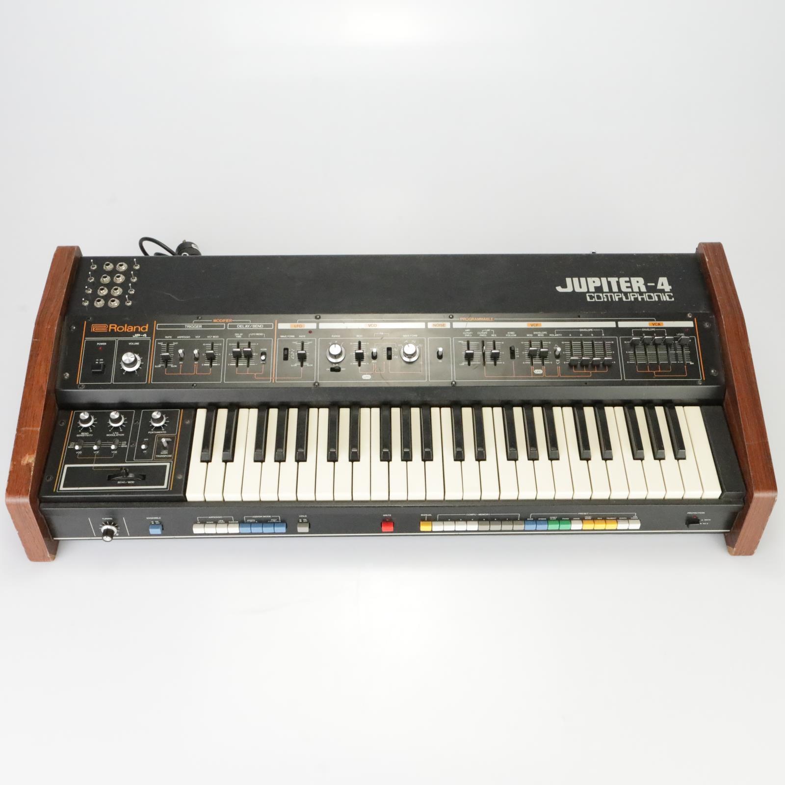 Roland Jupiter-4 JP-4 JP4 Compuphonic Synthesizer Keybaord w/ Mods #39335