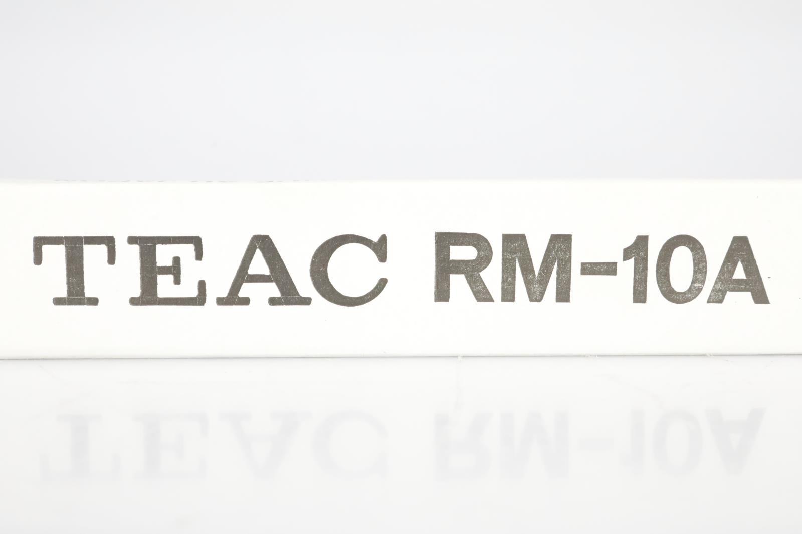 "Teac Tascam RM-10A 19"" Rack Mount Kit Rails X-10 Series NOS in Box! #39398"