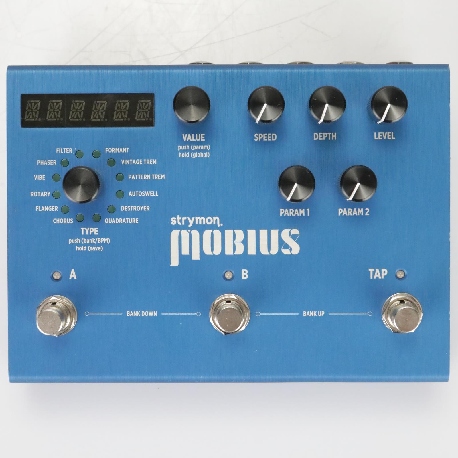 Strymon Mobius Modulation Effects Pedal Stompbox #39332