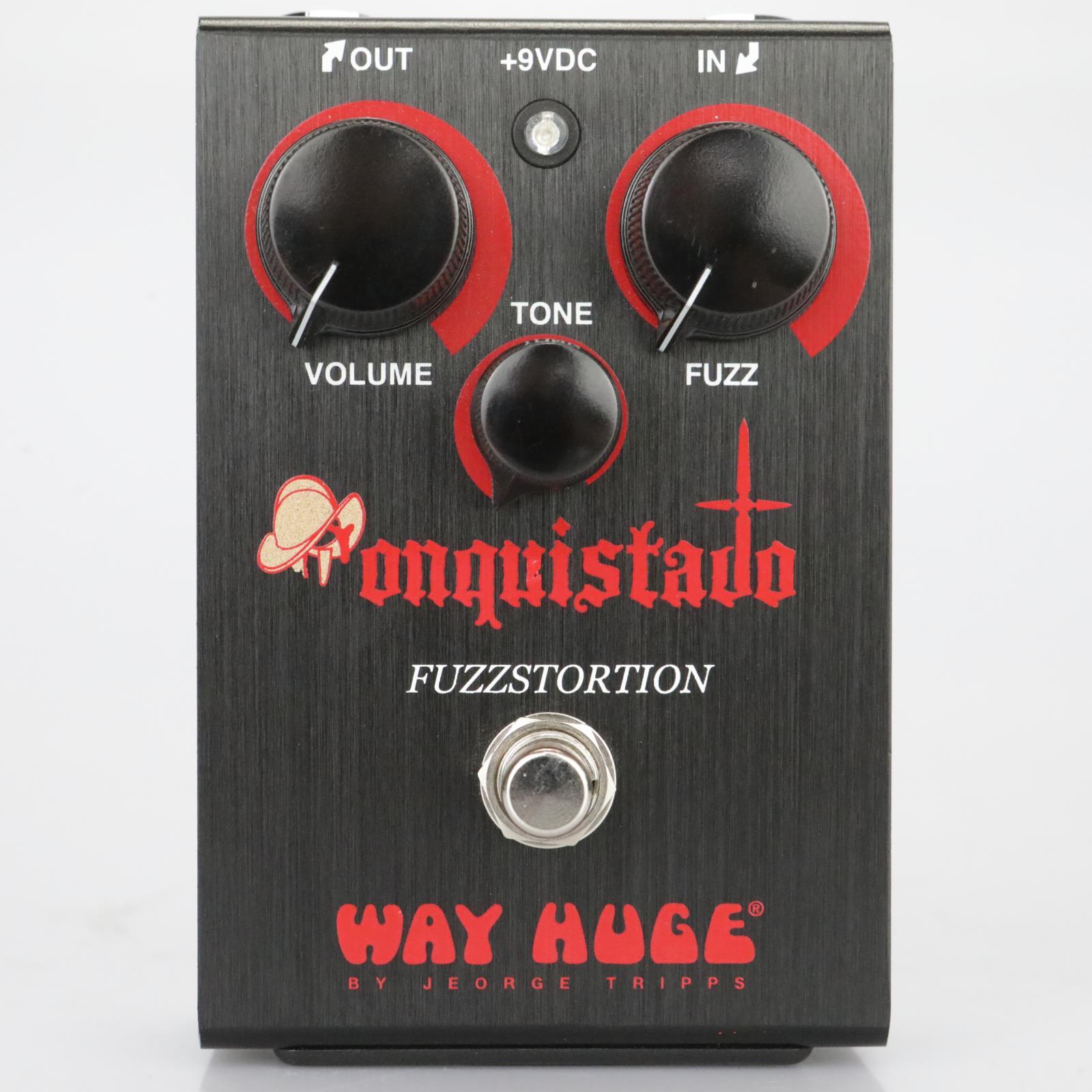 Way Huge Conquistador Fuzzstortion Distortion Fuzz Effects Pedal #39351