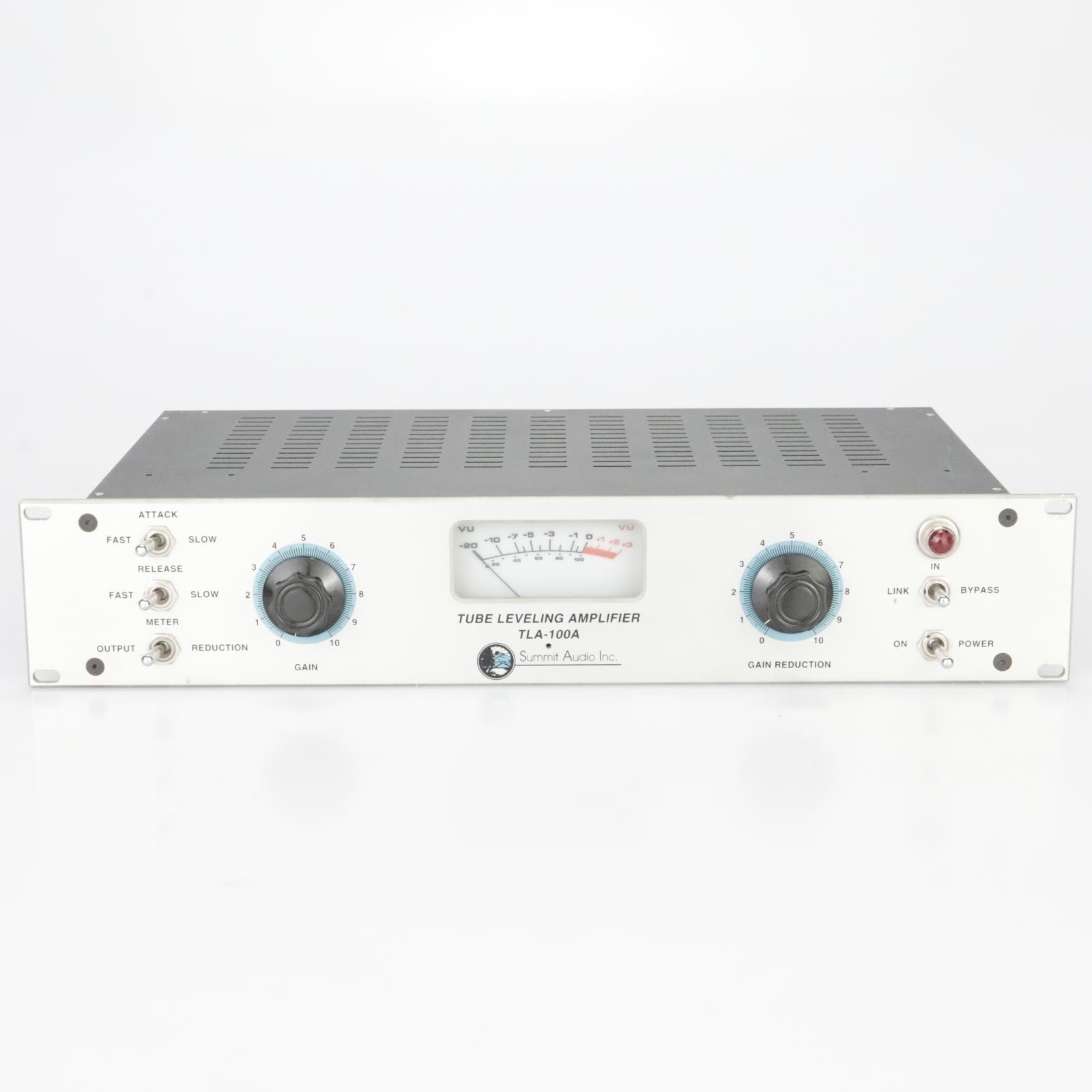 Summit Audio TLA-100A Tube Leveling Amplifier Compressor Limiter #39307