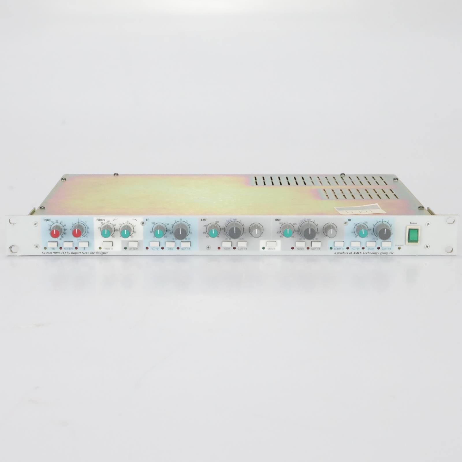 Amek System 9098 EQ / Mic Preamp By Rupert Neve #39392