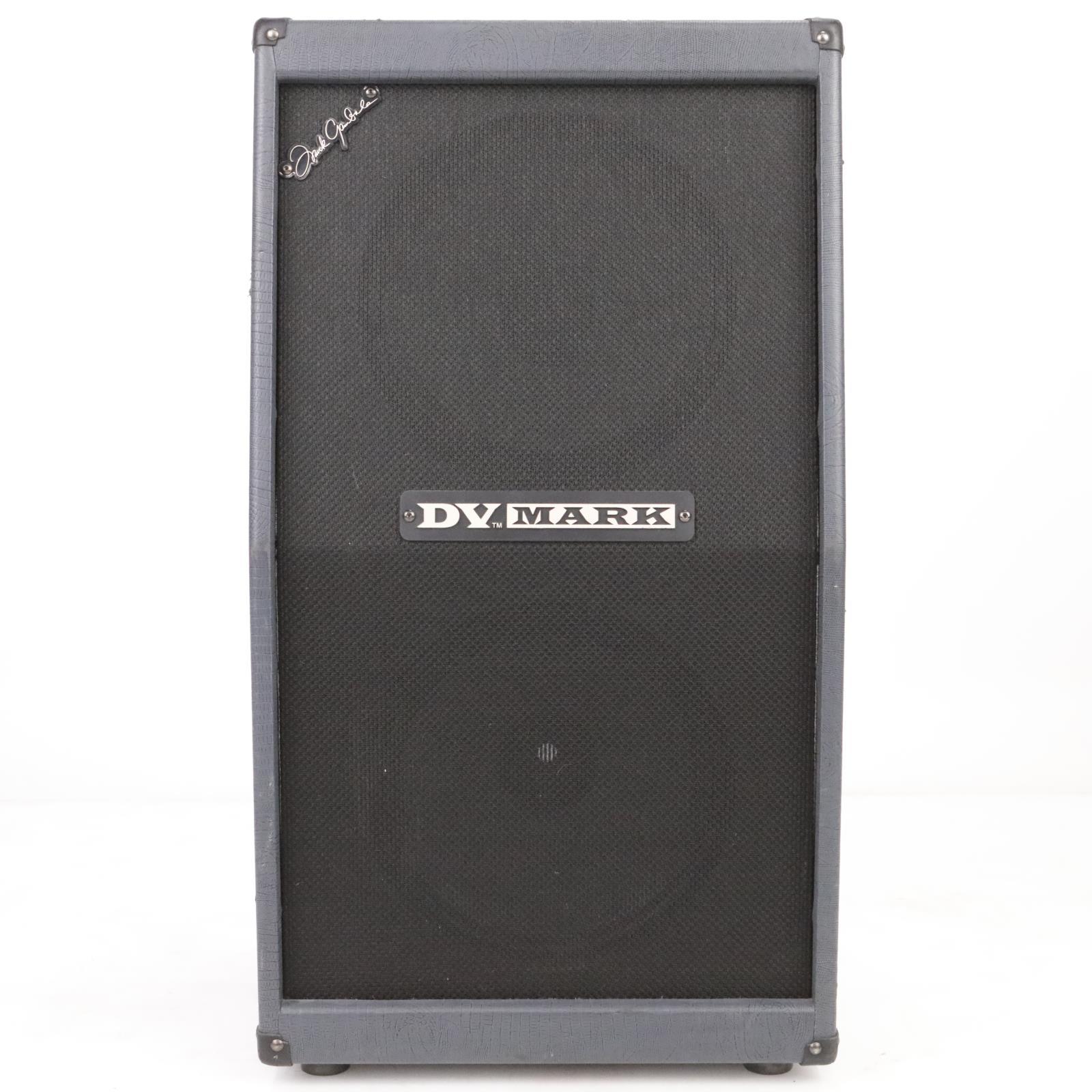 DV Mark C 212 FG 2x12 Guitar Speaker Cabinet w/ Case Frank Gambale #39368