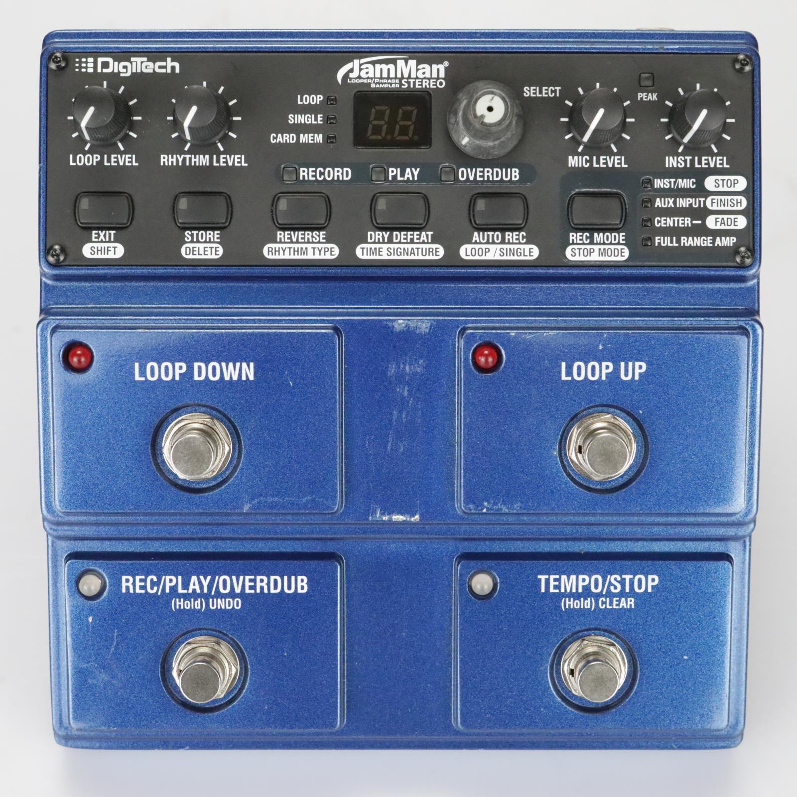 Digitech JamMan JML2V Stereo Looping Station Pedal Boys Like Girls #39415
