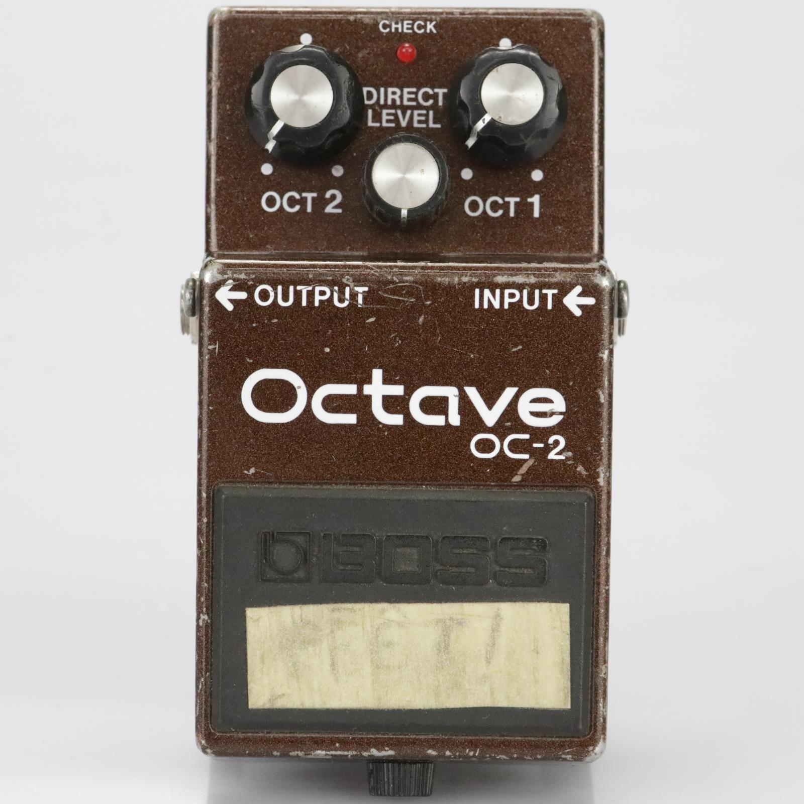 Boss OC-2 Octave Pedal Stompbox Owned by Leland Sklar #39533