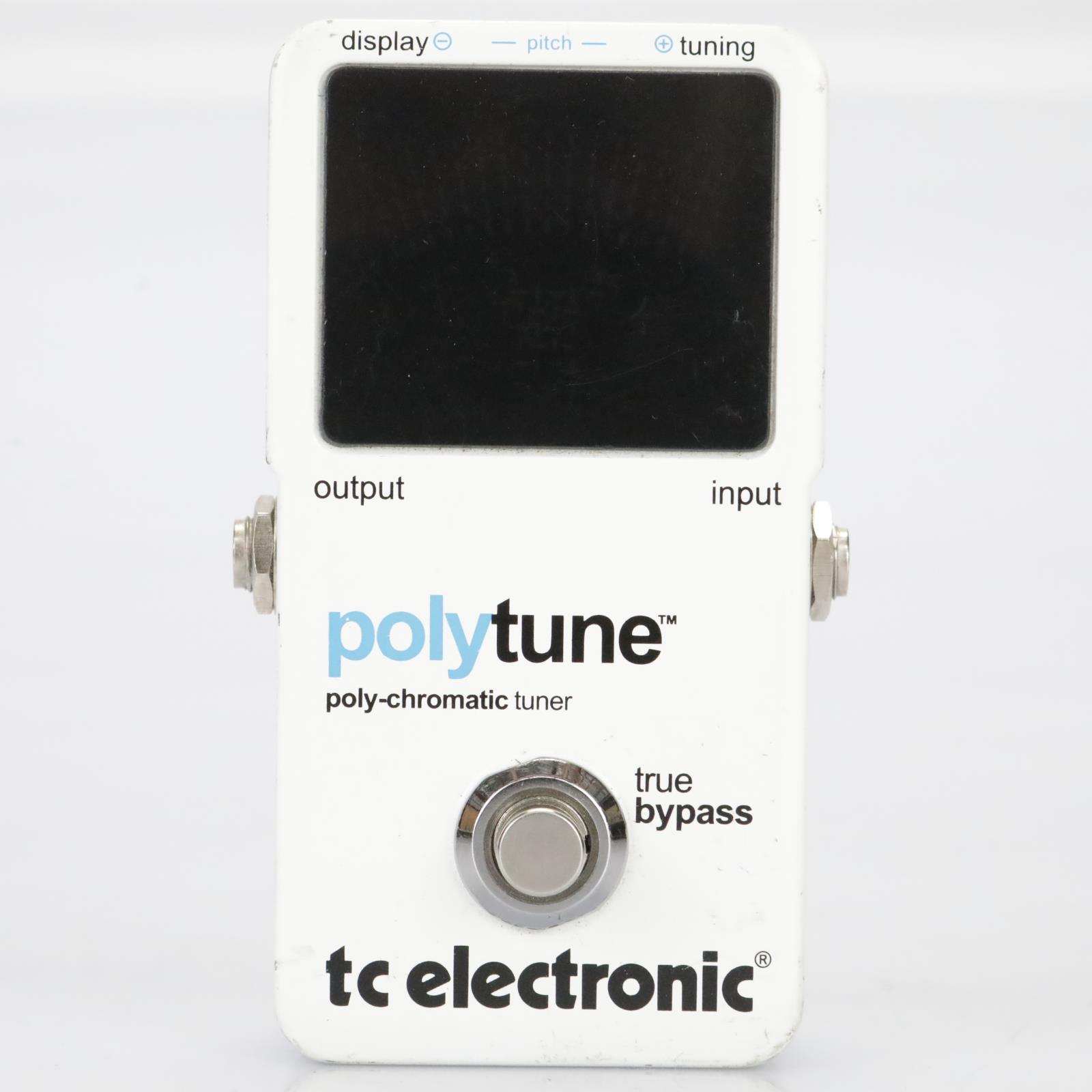TC Electronic Polytune Poly-Chromatic Tuner Pedal Owned by Leland Sklar #39534