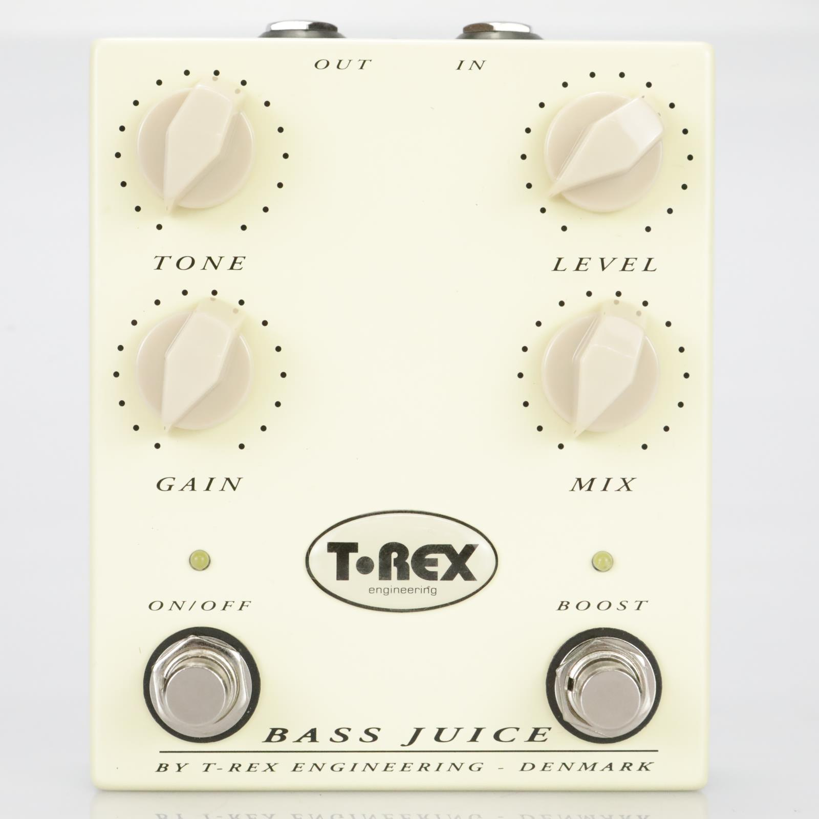 T-Rex Bass Juice Bass Distortion Effect Pedal Owned by Leland Sklar #39519