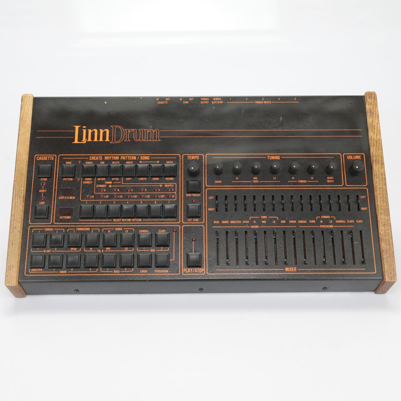 "Linn Electronics LinnDrum ""LM-2"" Drum Machine Forat Serviced #27695"
