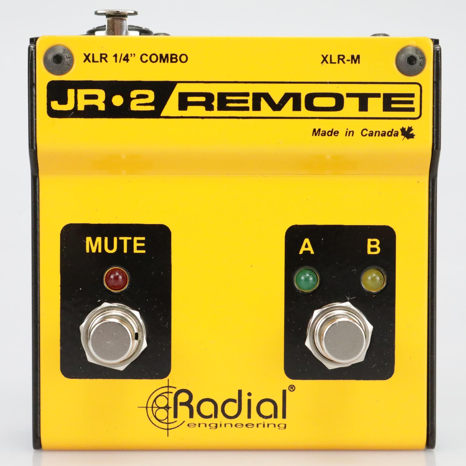 Radial JR2 Remote Footswitch Pedal Owned And Signed By Leland Sklar #39549