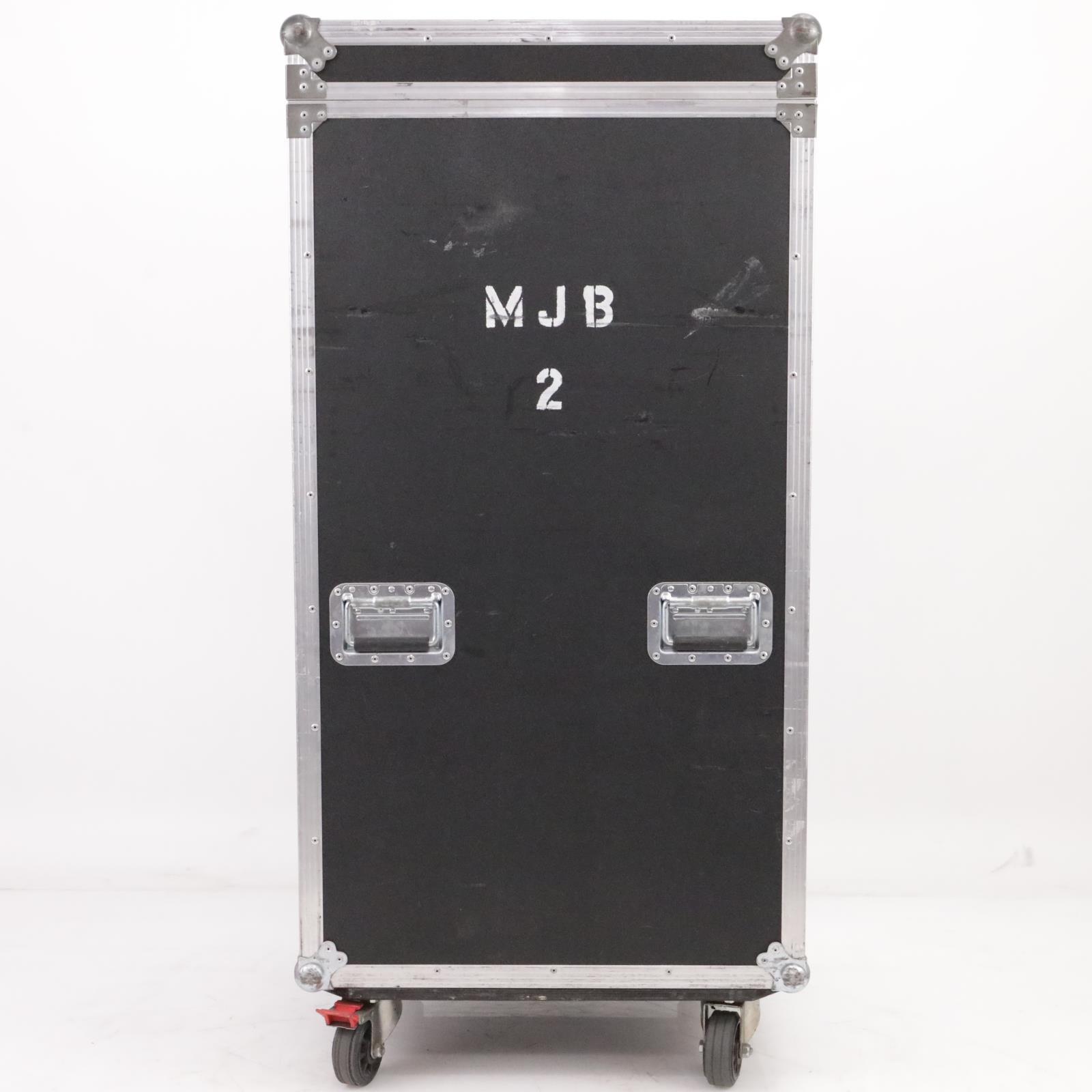 Rock Hard 20U 20 Space Mixer Top ATA Flight Road Case w/ Wheels #39606