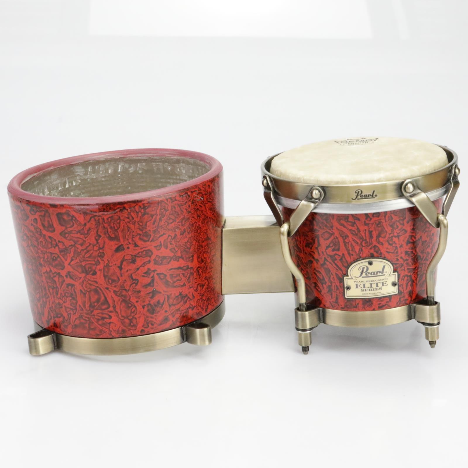 Pearl Elite Series PBF300DX Fiberglass Bongos Percussion #39786