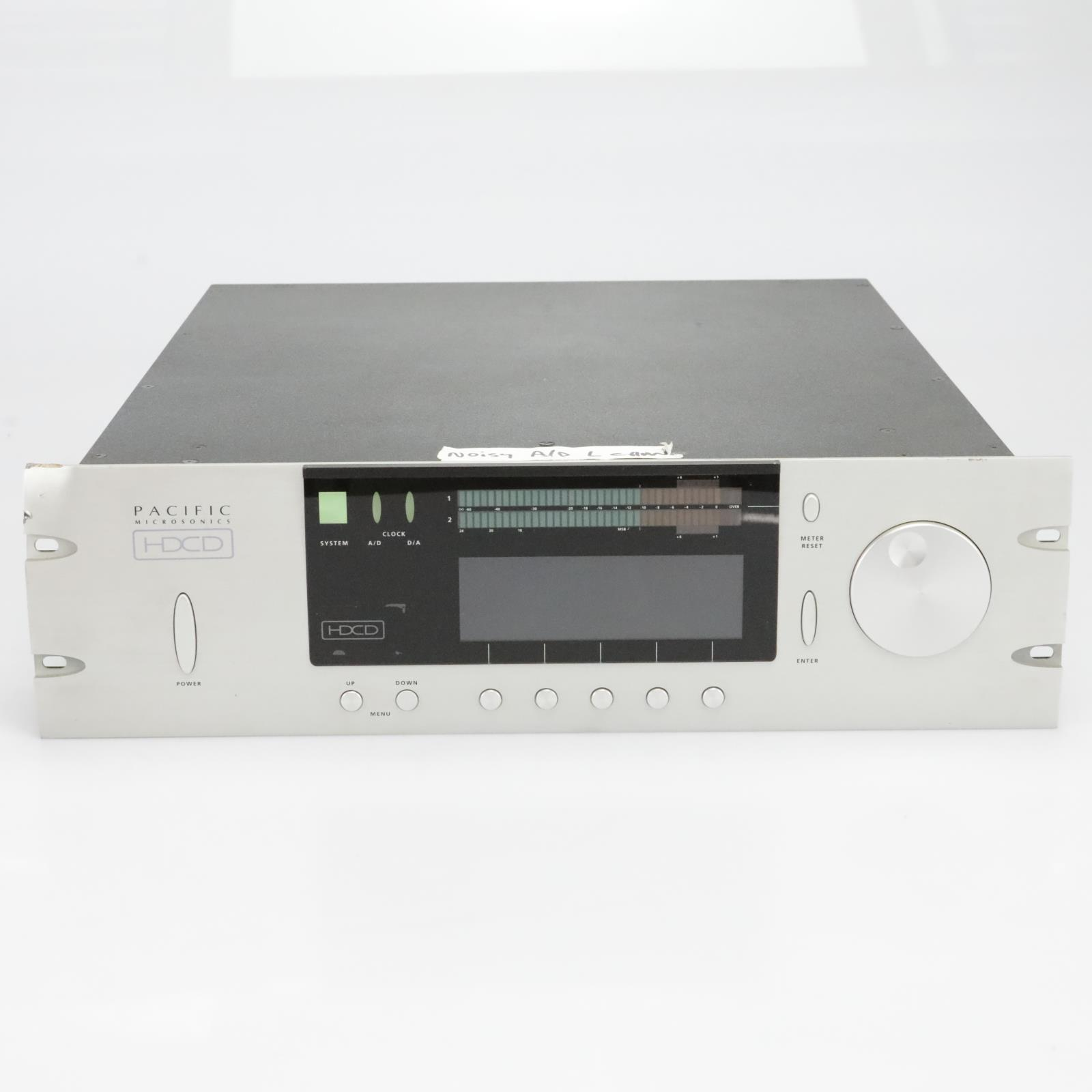 Pacific Microsonics HDCD Model One Processor AD/DA Converter #40006