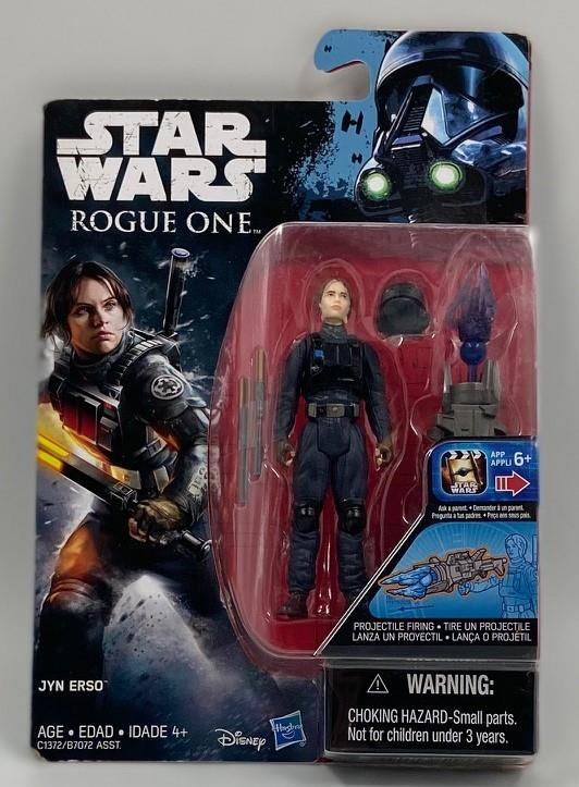 Star Wars Rogue One Jyn Erso Figure Factory Sealed Package