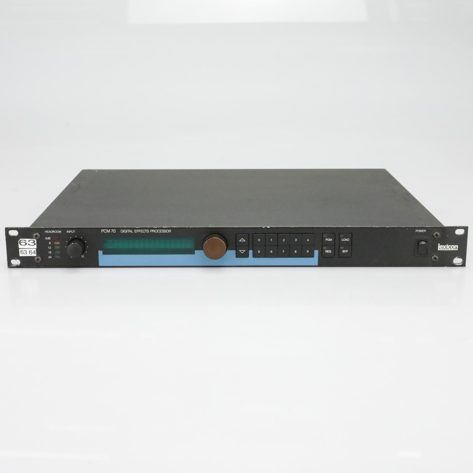 Lexicon PCM 70 Digital Effects Processor #40131