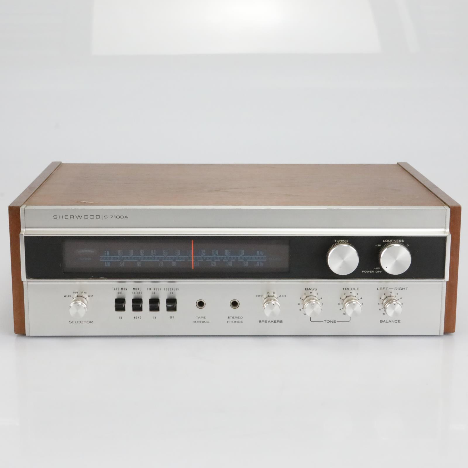 Sherwood S-7100A Stereo Receiver #40164