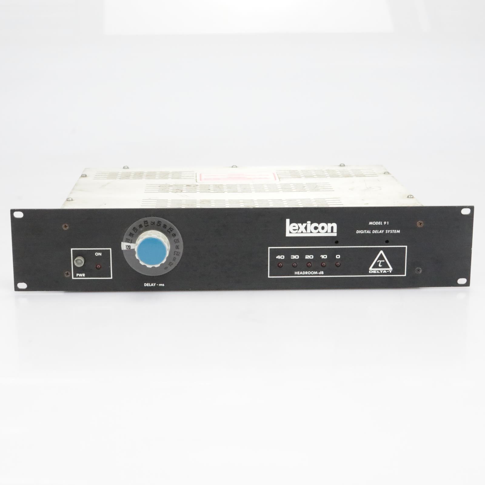 Lexicon Delta-T Model 91 Digital Delay System #40190