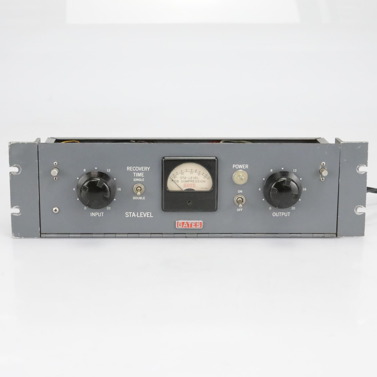 Gates STA-Level Vintage Tube Compressor Limiter #40241