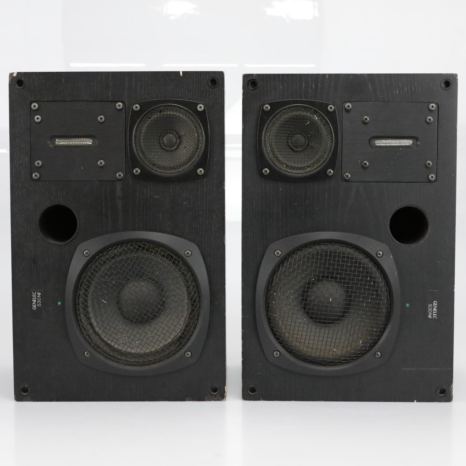Genelec Triamp S30 NF Active Three-Way Studio Monitor Speakers S30NF #40317