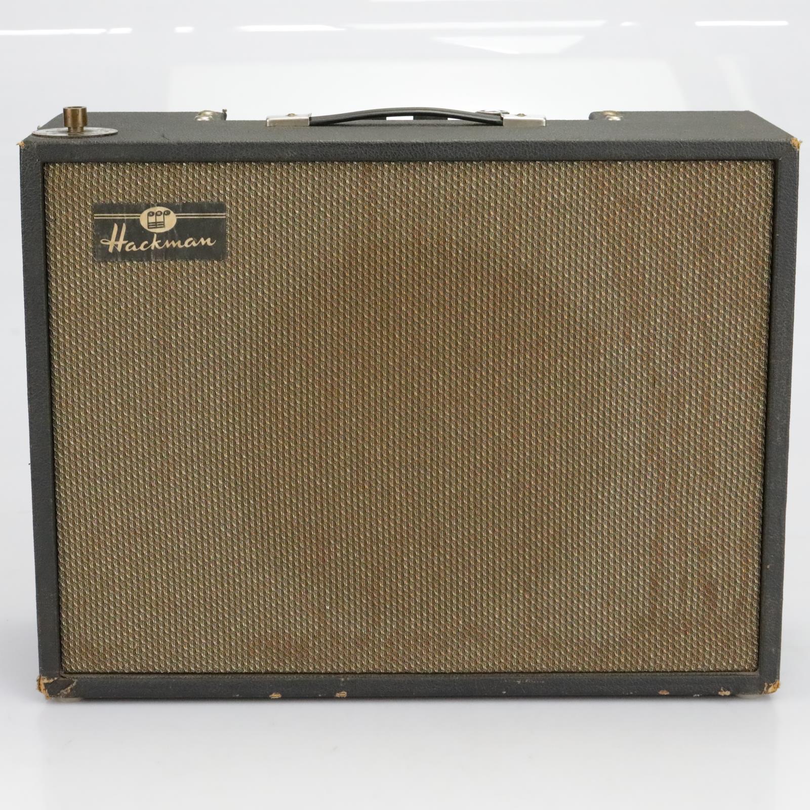 """Hackman Vintage Solid State Organ Accordion Guitar Amp Amplifier 1X12"""" #40334"""