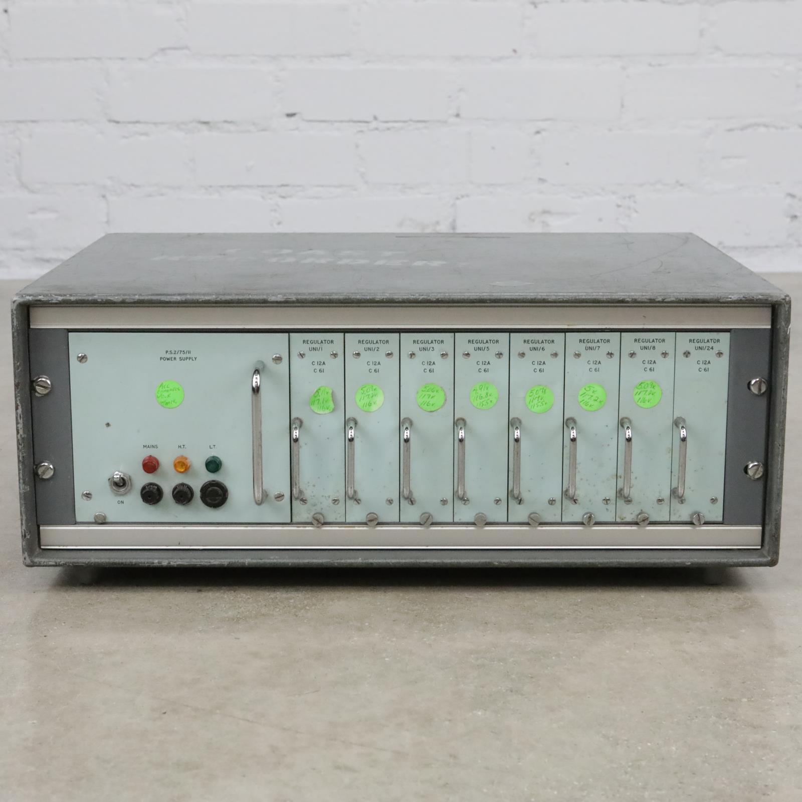 Vintage P.S.2/75/II 7-Channel Power Supply for AKG C12A & C61 Microphones #40365
