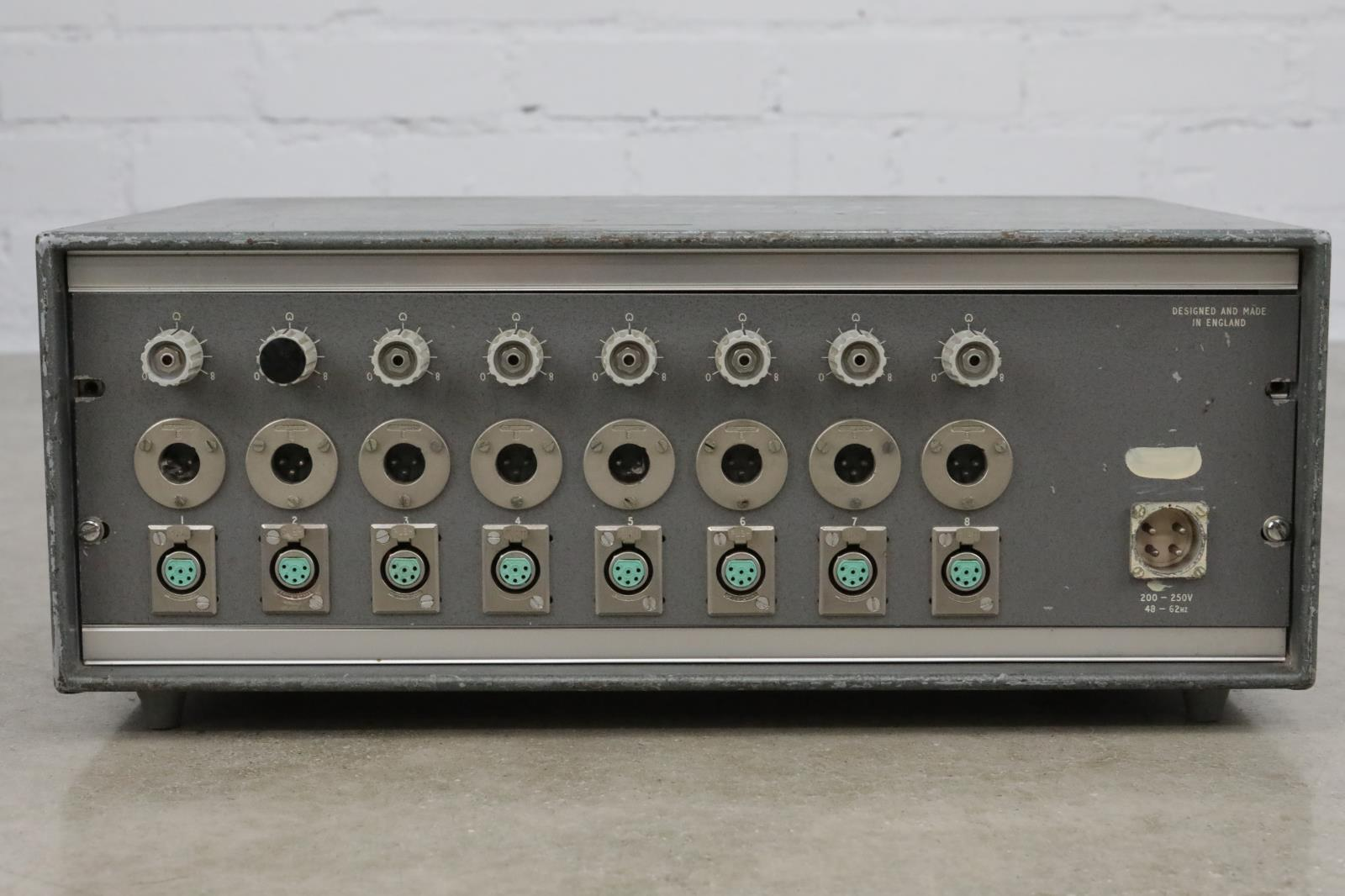 Vintage P.S.2/75/II 7-Channel Power Supply for AKG C12A