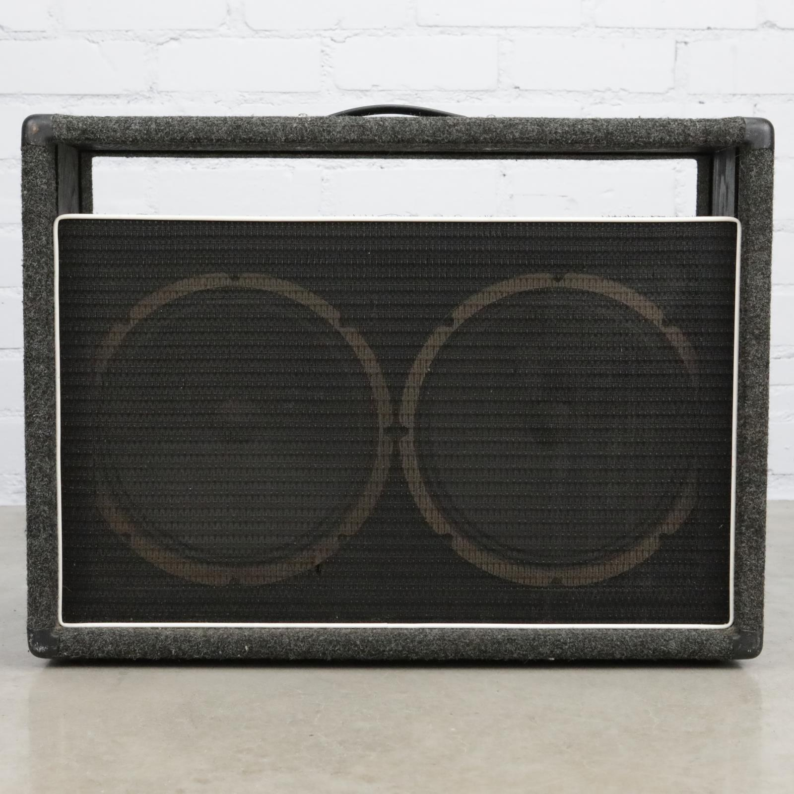 """2x12"""" Guitar Combo Open Back Cabinet w/ Rola 42H1702 2x12 Speakers #40421"""