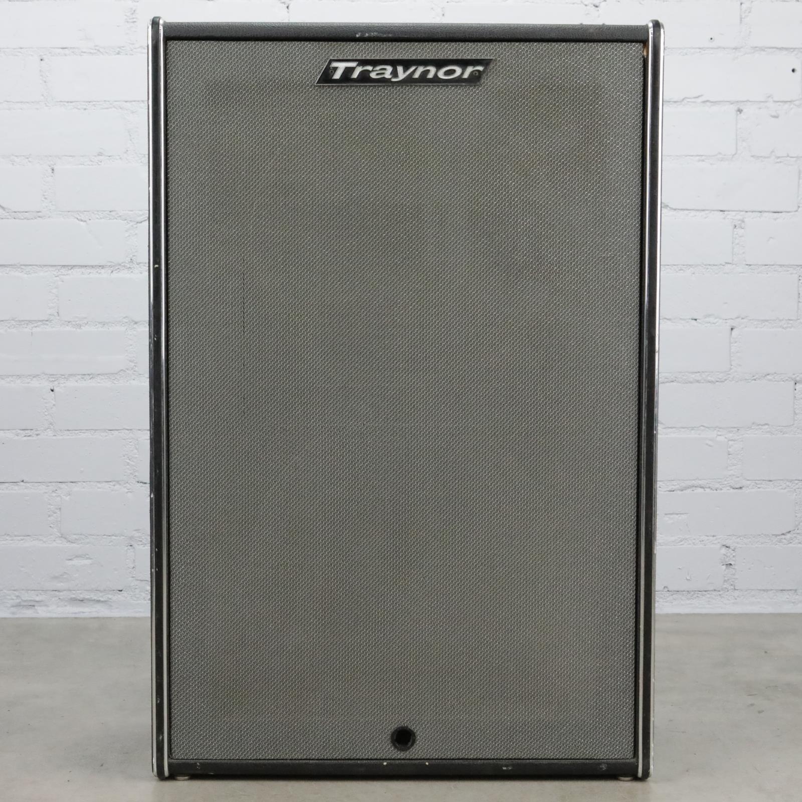 Traynor YT-15 Bass 2x15 Speaker Cabinet Cab #40402