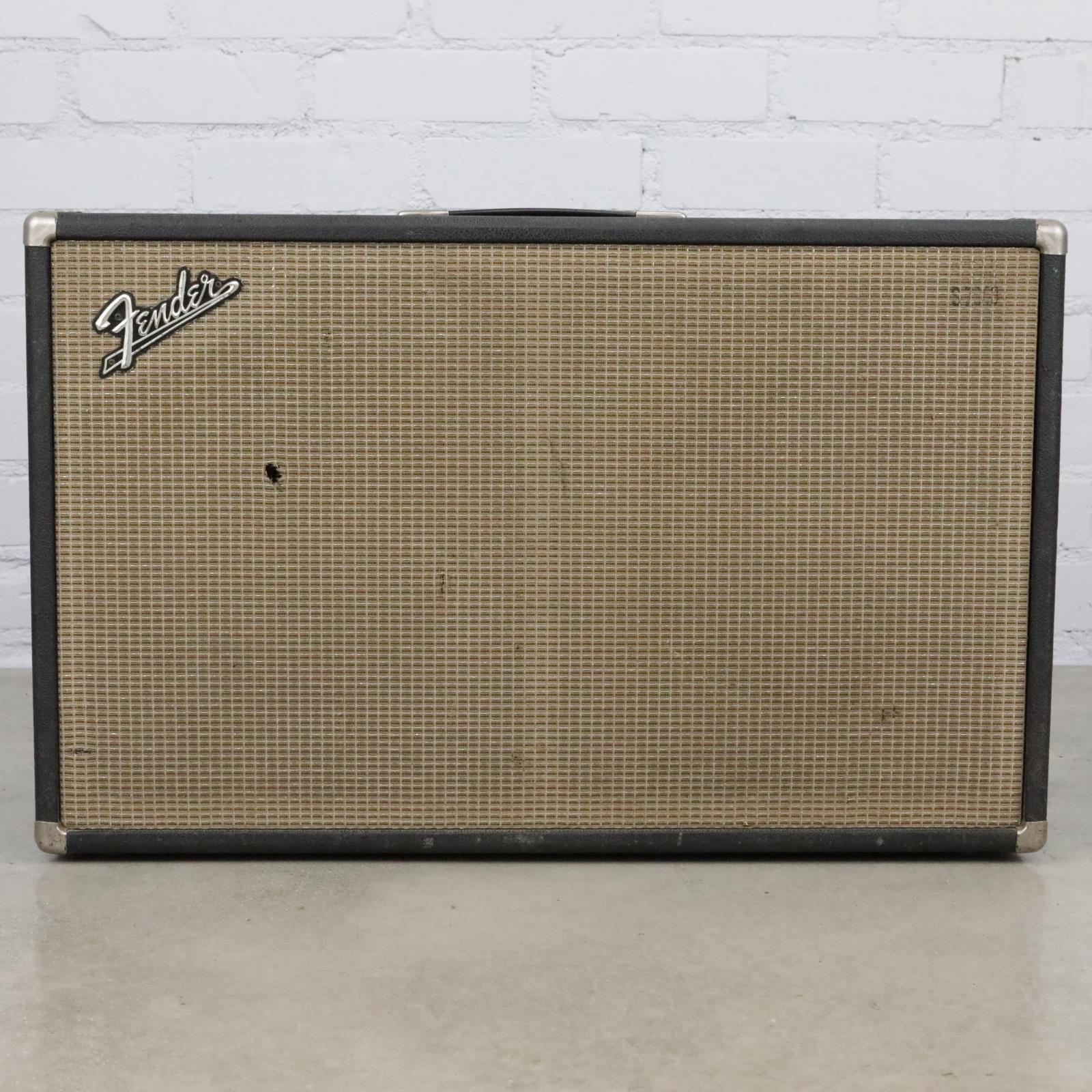 1960's Fender Bandmaster 2x12 Cabinet w/Celestion G12 Vintage 30 Speakers #40473