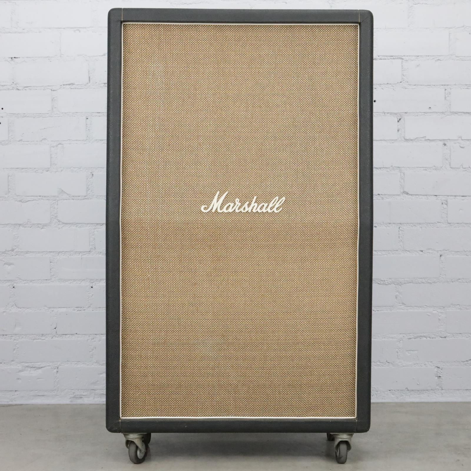 1970 Marshall 2034 8x10 High-Power Basketweave Cabinet Celestion 9384 #40454