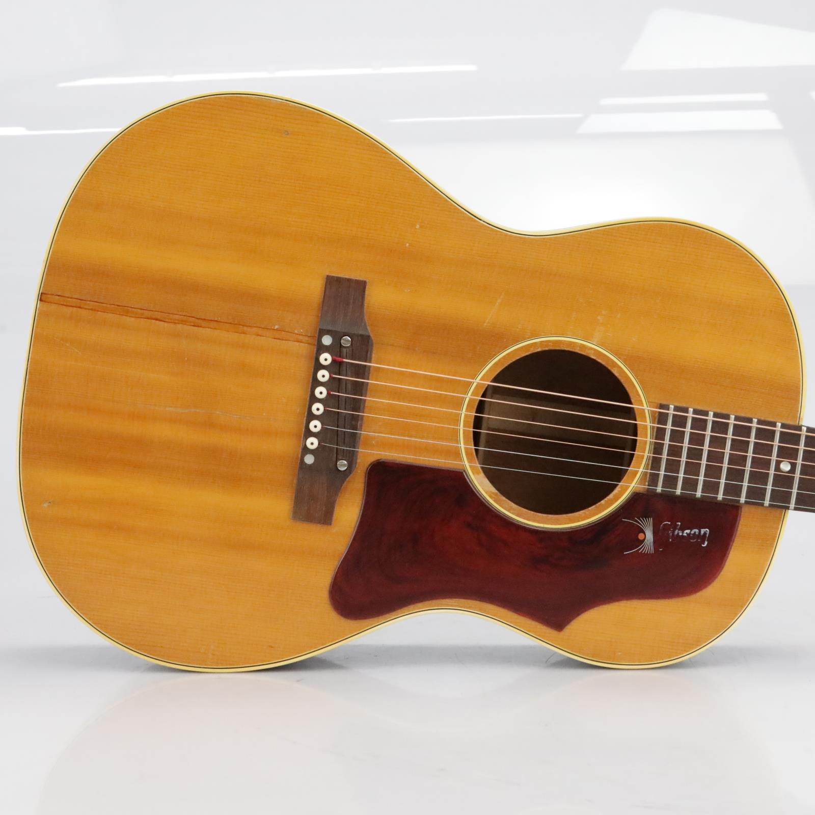 1966 Gibson B-25 Natural Acoustic Flat Top Guitar w/ Case #40176