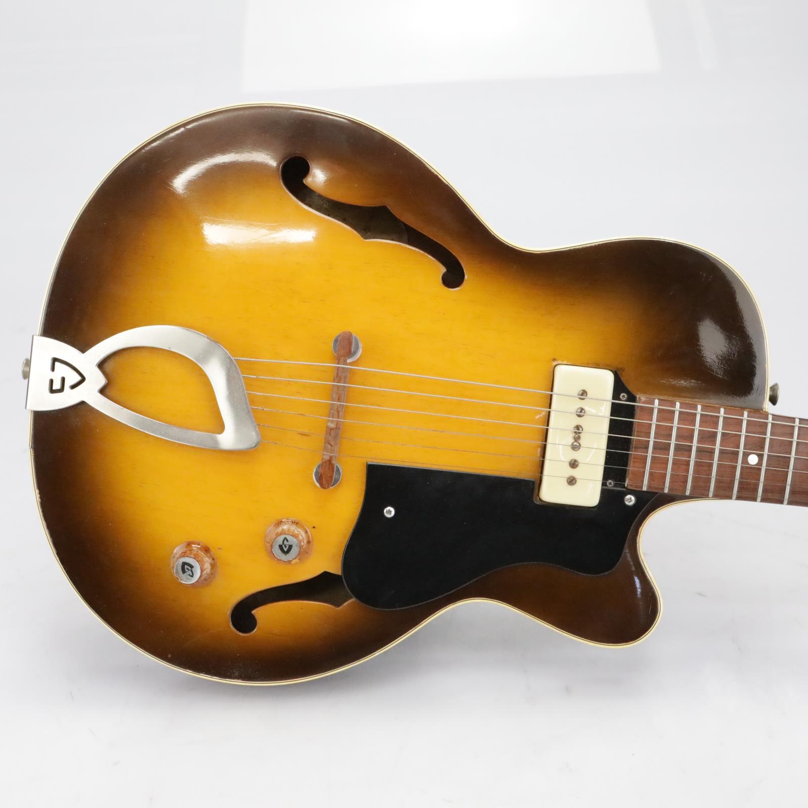1960 Guild M-65 Hollow Body 3/4 Size Electric Guitar Sunburst #40518