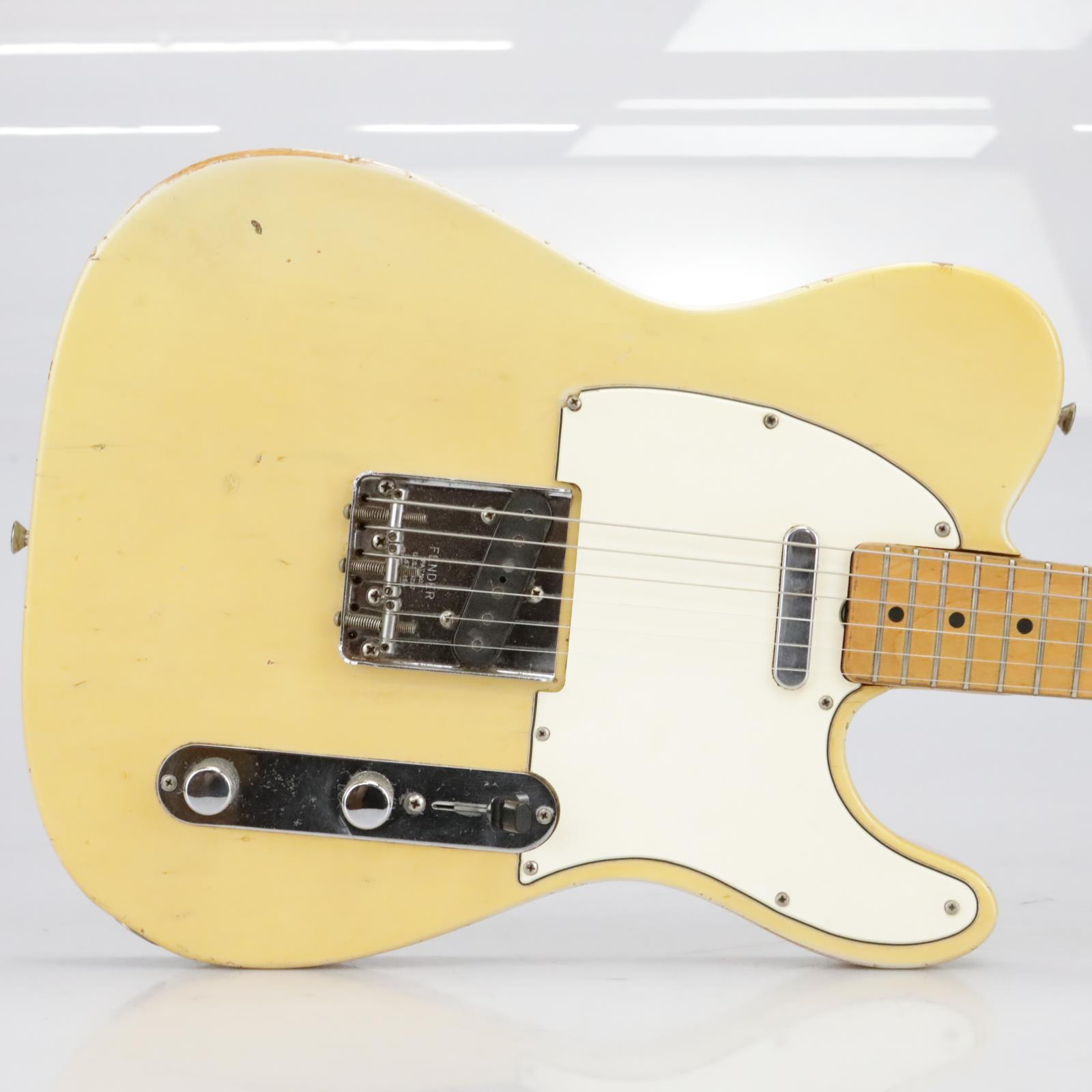 1968 Fender Telecaster Tele Blonde w/ Hard Case 100% Original #40153