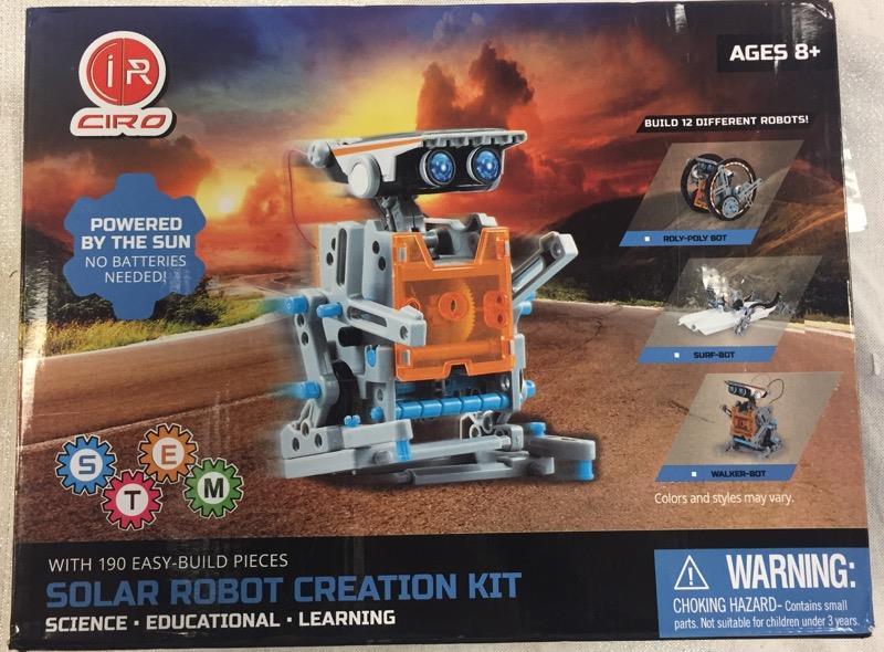 For Parts - Sillbird STEM 12-in-1 Education Solar Robot ...