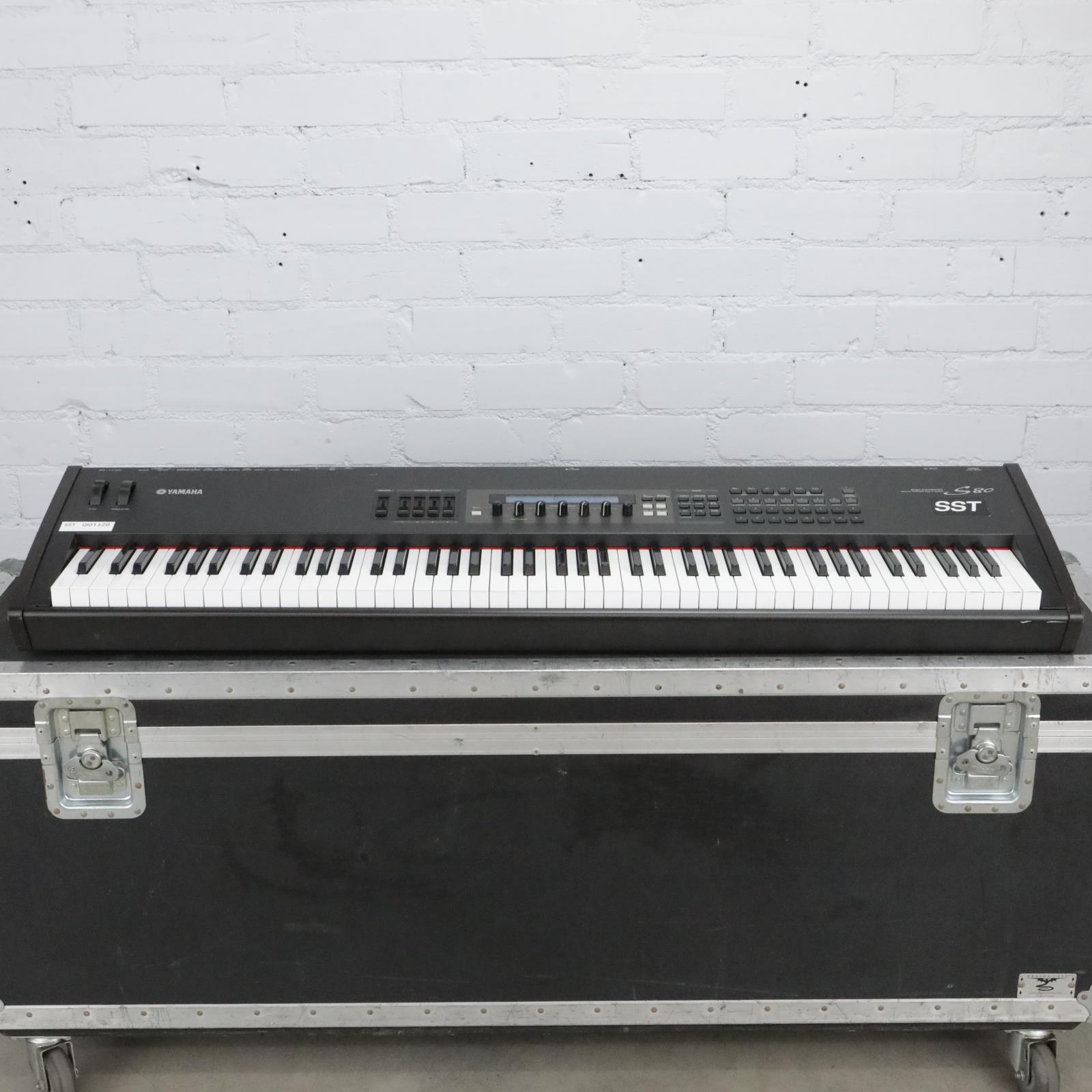 Yamaha S80 Keyboard 88 Note Weighted Electronic Piano Synthesizer #40723
