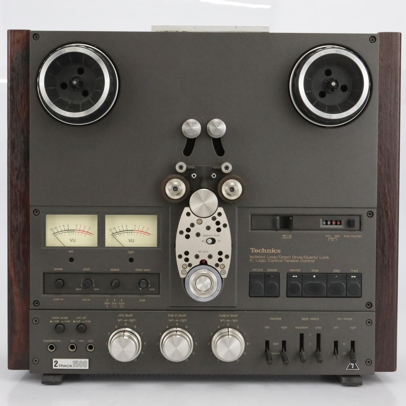 Technics RS-1500 Stereo Reel to Reel Tape Machine #40503