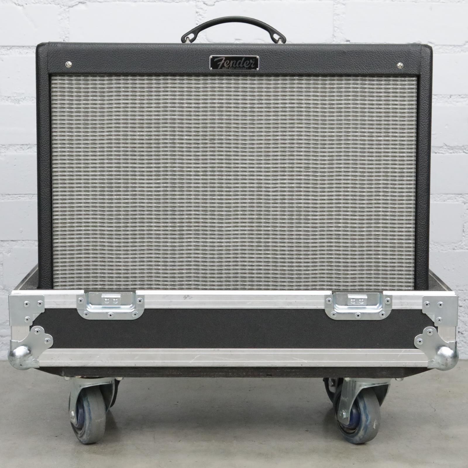 Fender Hot Rod Deluxe III Tube Guitar Combo Amplifier w/ Road Case #40761