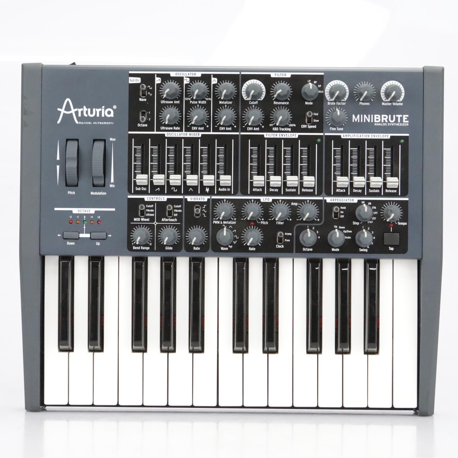 Arturia Minibrute Analog Synthesizer Keyboard #40901