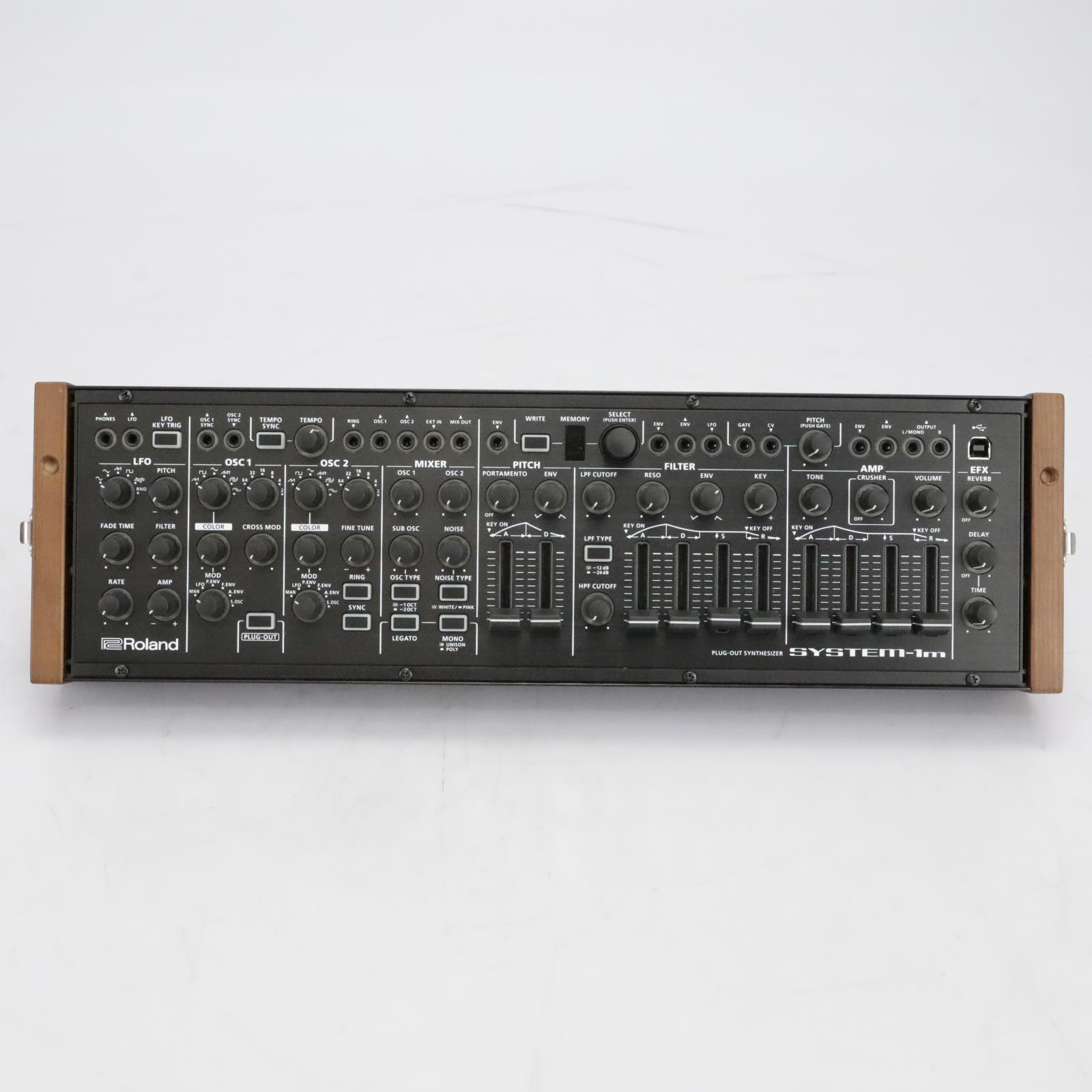 Roland System-1M Plug-Out Synthesizer w/ Roland SYR-E84 Case #40846